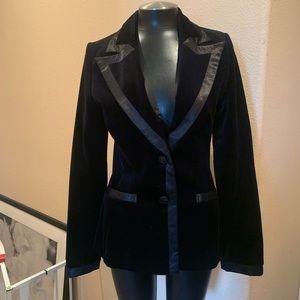 H&M Velvet Blazer